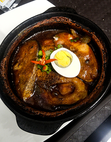 wok & clay pot dish