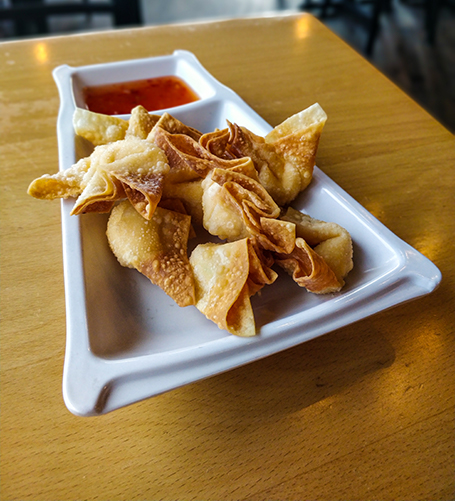 cheese wontons appetizer