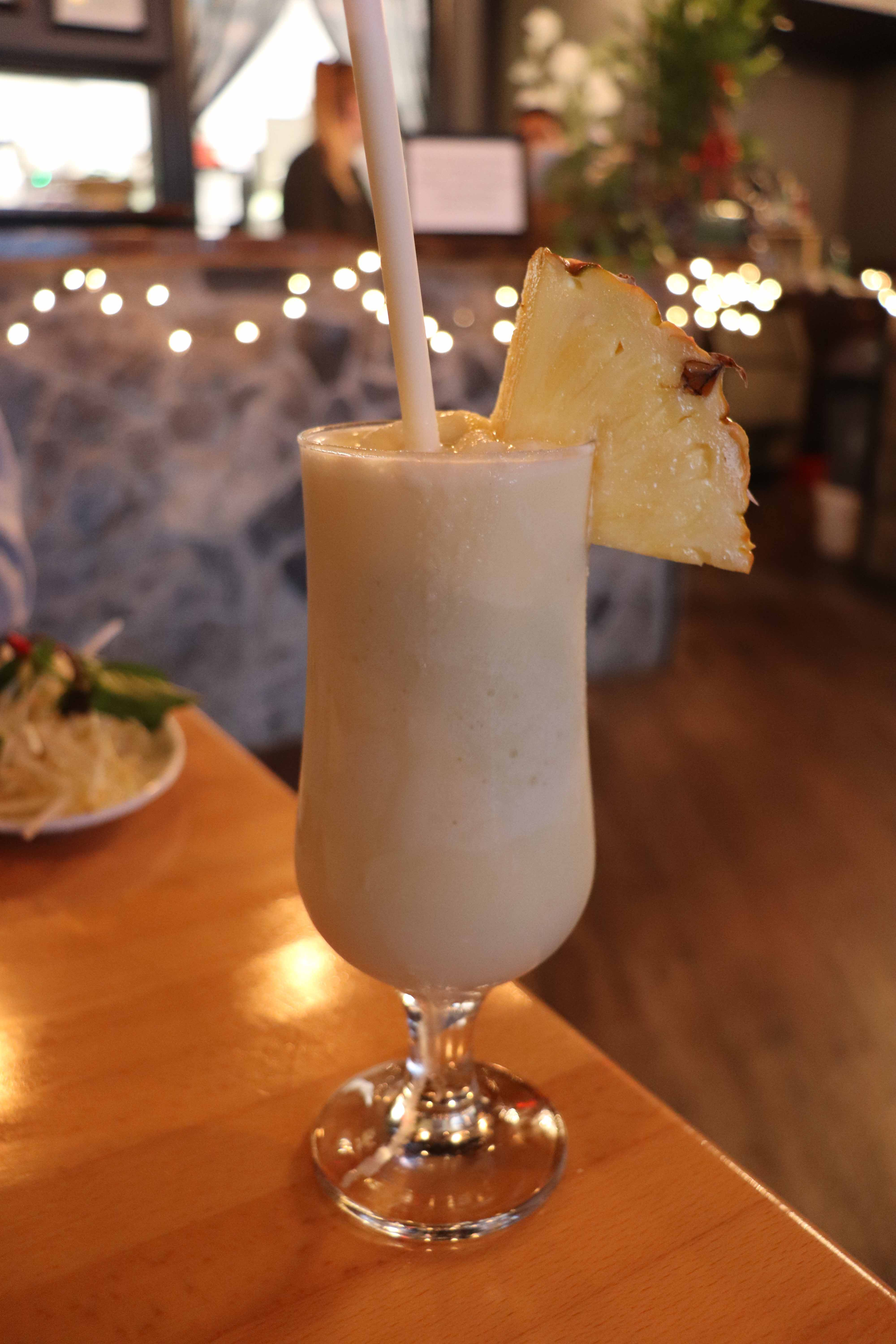 coconut smoothie drink